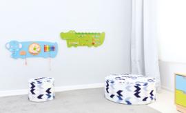Wandspiel/Wandapplikation Krokodil (91 x 32 cm)