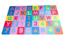 Spielmatte Alphabet/Nummern/Figuren 3,6 m² / 40-teilig (30 x 30 x 1,2 cm)