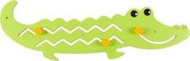 Wandspiel/Wandapplikation Krokodil (105 x 37 cm)