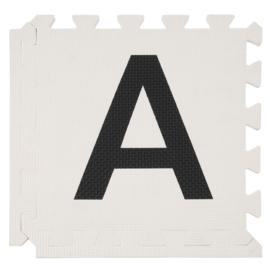 SALE! Spielmatte Alphabet/Figuren 2,86 m² Pastelltönen-2-farbig / 30-teilig (30 x 30 x 1,2 cm)