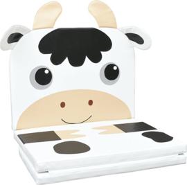 3-teilige Matte Kuh oder Katze (zusammenklappbar)