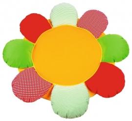 Spiel- und Krabbeldecke Blume