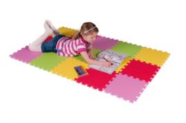 """Spielmatte 8,5 m² """"Mix"""" 90-teilig (30 x 30 x 1,2 cm)"""