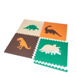 Einzelfliese  mit Dinosaurier Motiv  (60 x 60 x 1,2 cm)