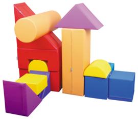 """Spiel-Ecke Schaumstoff """"Groß"""" (rot, gelb, blau, orange, lila)"""