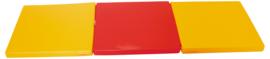 Sportmatte / Gymnastikmatte / Spielmatte Blau oder Rot / Orange (180 x 60 x 5 cm)