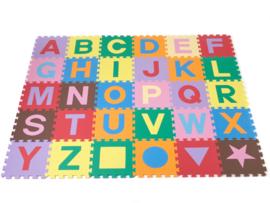 Spielmatte Alphabet/Figuren 2,86 m² / 30-teilig (30 x 30 x 1,2 cm)