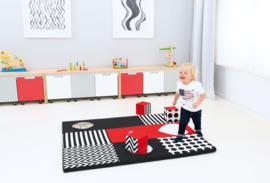 Spielmatte Kontraste/Spiegeln (145 x 120 x 4 cm)