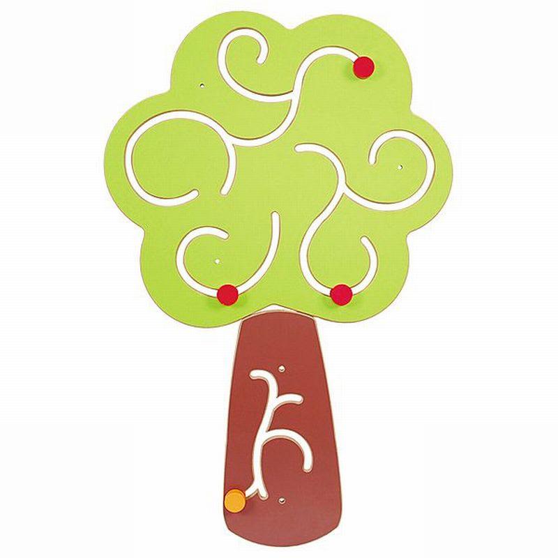 Wandspiel/Wandapplikation Baum (101 x 60 cm)