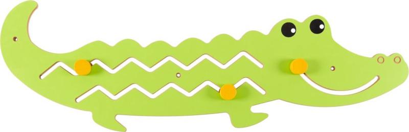 Wandspiel/Wandapplikation Krokodil (105 x 37)