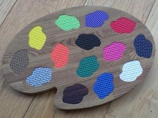 Muster/Beispiel für Einzelfliese Mattenpuzzle 50 x 50 1,4 cm