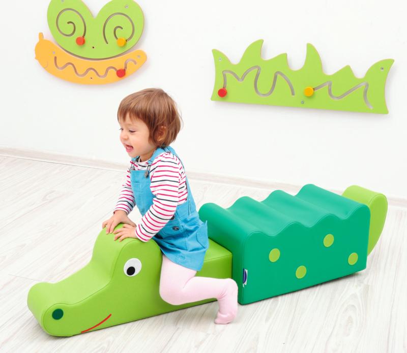 Schaumstofftier Krokodil