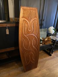 Groot Boho wandbord, wanddecoratie hout