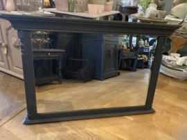 Grote vintage spiegel, antieke wandspiegel