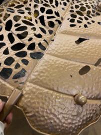 PTMD schaal Yana, wanddecoratie goud