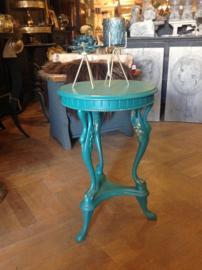 Antiek tafeltje in Hollywood Regency stijl