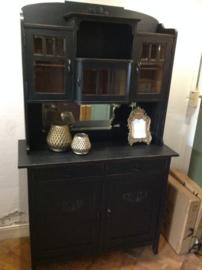 Antieke buffetkast, vintage kast