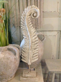 Riverdale grote veer, varen  op voet 63cm, Boho feather