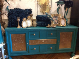 Vintage dressoir, Hollywood Regency kast
