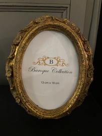 Fotolijst Barok ovaal