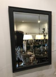 Vintage spiegel, stoere facet geslepen spiegel