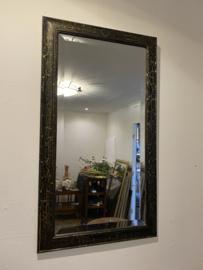 Vintage spiegel, craquelé, halspiegel
