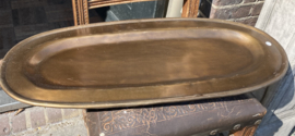 PTMD schaal, plateau brons kleurig