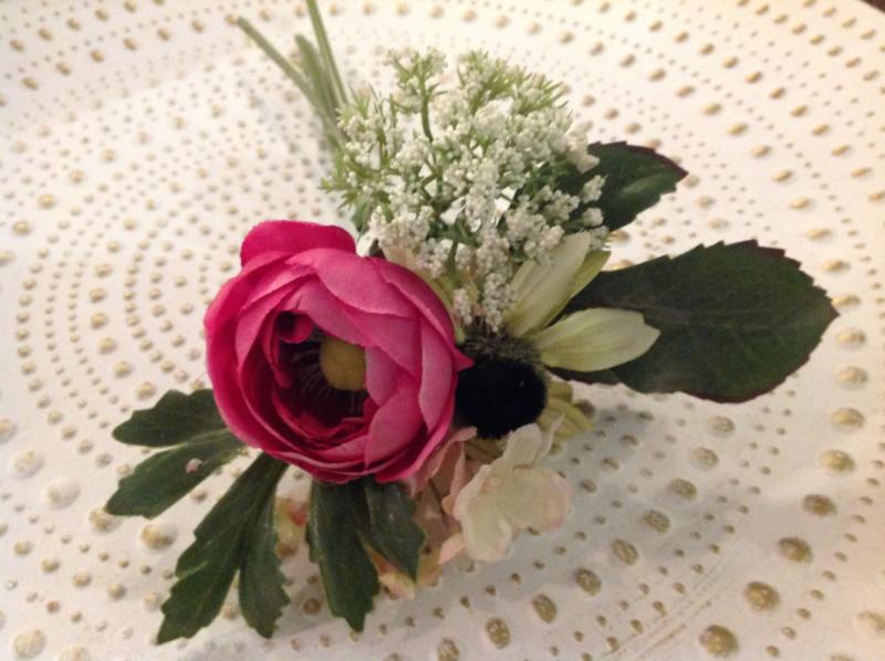 Lief veldboeketje in roze