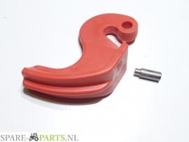 AC495813 Terugslagklep zaaikouter compl. / Coulter stop + rivet