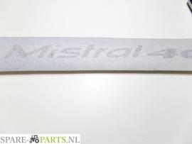 Landini 403965M1 Decal / Sticker Mistral 40