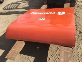 Laverda combine platework rear 3890