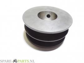 AC499716 Poelie 2 rillig / V-belt pulley dw=54 2 groove