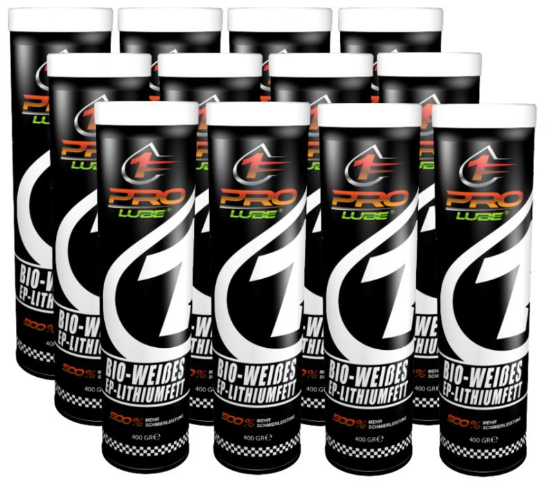 ProLube® WLP Bio wit lithium smeervet EP 12 x 400 gram