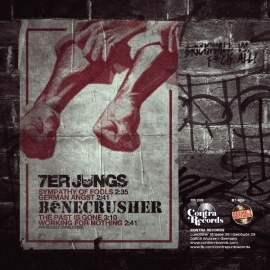 Bonecrusher / 7er Jungs - Brickwall Vs. F*ck All! EP