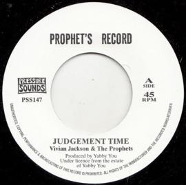 """Vivian Jackson & The Prophets - Judgement Time 7"""""""