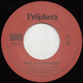 """Yabby You & The Prophets - Fire In A Kingston 7"""""""
