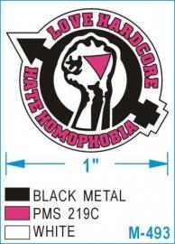 Love Hardcore, Hate Homophobia - metalpin