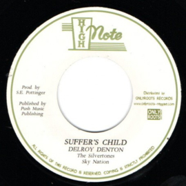 Delroy Denton & The Silvertones ‎- Suffer's Child 7""