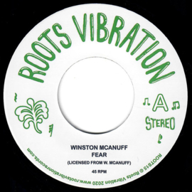 "Winston McAnuff - Fear 7"""