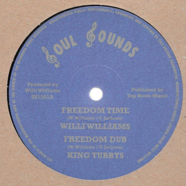 "Willi Williams - Freedom Time / Armagideon Time 12"""