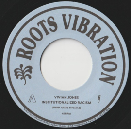 Vivian Jones ‎- Institutionalized Racism 7""