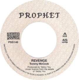 "Tommy McCook / Tommy & King Tubbys - Revenge / Greetings 7"""
