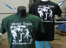 Foreign Legion - Always Working Class (Black) T-Shirt