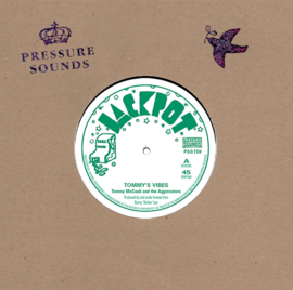 """Tommy McCook And The Aggrovators - Tommy's Vibes 7"""""""
