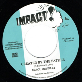 """Errol Dunkley - Created By The Father 7"""""""