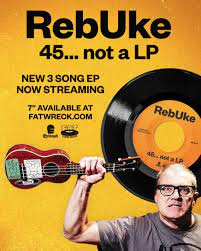 """Rebuke - 45... Not A LP 7"""""""