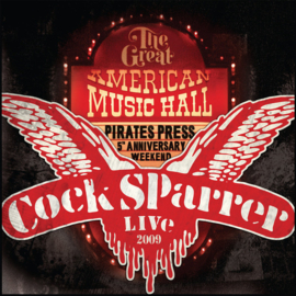 Cock Sparrer - Live In San Francisco DOUBLE LP