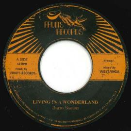 "Burro Banton - Living In A Wonderland 7"""