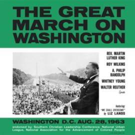 Martin Luther King Jr. - The Great March On Washington LP (Spoken Word)