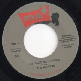 The Slickers ‎- St. Jago De La Vega 7""
